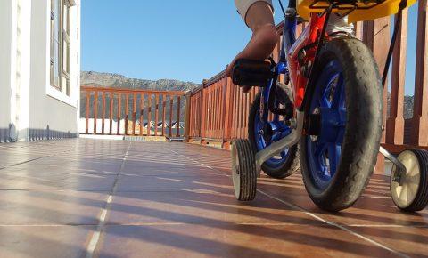 Bici con ruedines